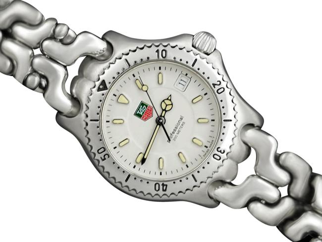 Item - Silver Professional Sel Sport Elegance Mens Diver Stainless Watch