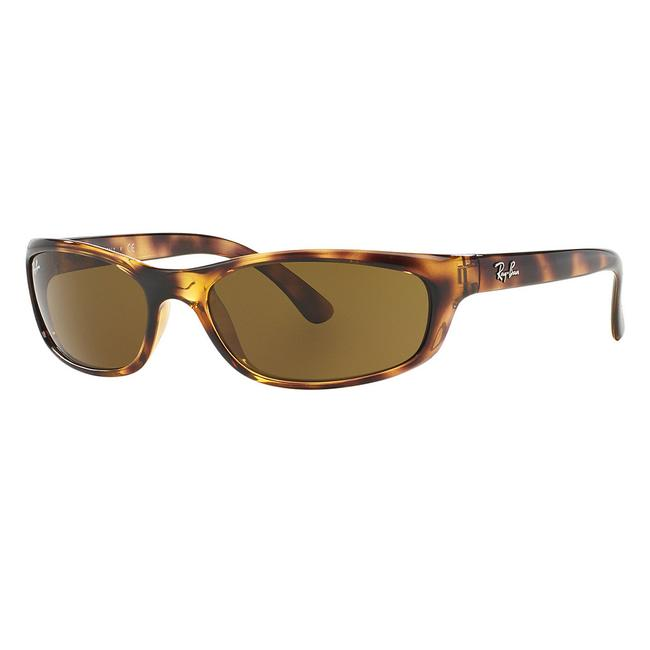 Item - Havana Frame & Brown Classic Lens Rb4115 642/73 Rectangular Unisex Sunglasses