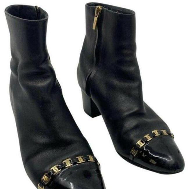 Item - Silver Black Gold Signa Boots/Booties Size US 6 Regular (M, B)