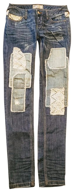 "Item - Light Blue White Medium Wash Nwot ""Haynes Skinny Jeans Size 24 (0, XS)"