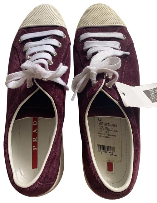 Item - Burgundy/Purple Sneakers Size EU 39.5 (Approx. US 9.5) Regular (M, B)