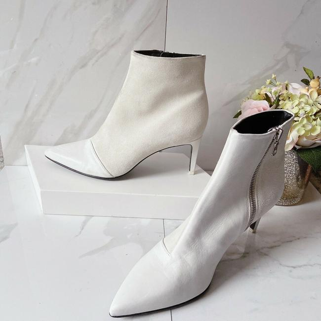 Rag & Bone White Beha Pointed Toe Ankle Boots/Booties Size US 10 Regular (M, B) Rag & Bone White Beha Pointed Toe Ankle Boots/Booties Size US 10 Regular (M, B) Image 4