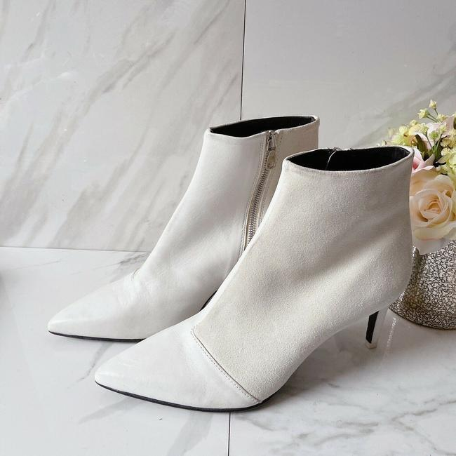 Rag & Bone White Beha Pointed Toe Ankle Boots/Booties Size US 10 Regular (M, B) Rag & Bone White Beha Pointed Toe Ankle Boots/Booties Size US 10 Regular (M, B) Image 5