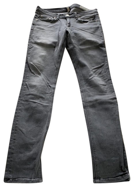 Item - Washed Grey Light Wash And Skinny Jeans Size 6 (S, 28)