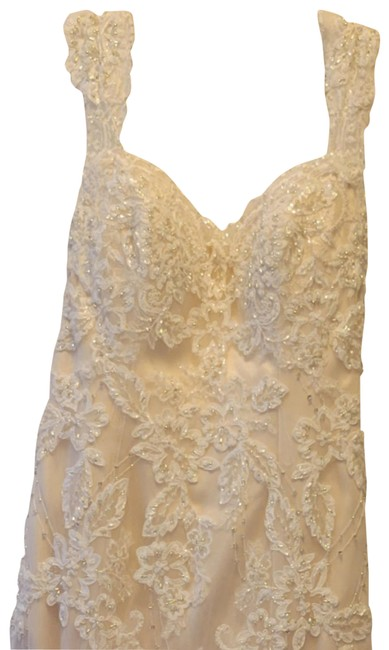 Item - Champagne Not Too Sure Long Formal Dress Size 8 (M)