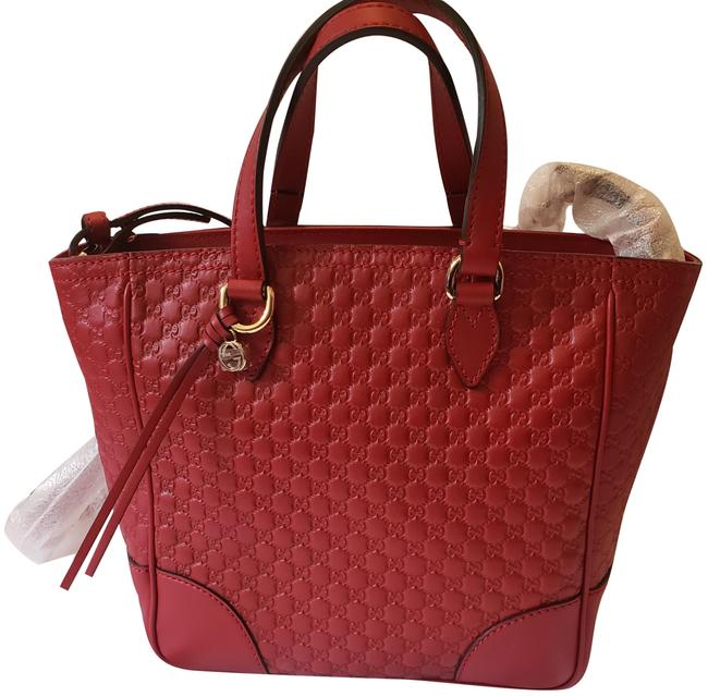 Item - ssima Tote Red Leather Cross Body Bag