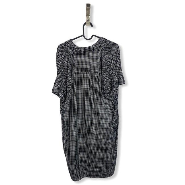 Madewell Black White Central T Button Front Short Casual Dress Size 6 (S) Madewell Black White Central T Button Front Short Casual Dress Size 6 (S) Image 4