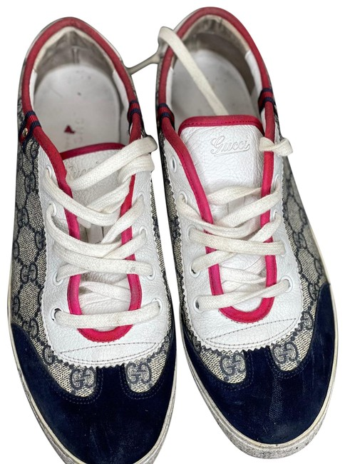 Item - Navy Blue Red White 204283 G Sneakers Size EU 39 (Approx. US 9) Regular (M, B)