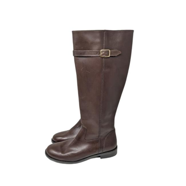 Item - Brown Antonia Leather Boots/Booties Size US 8 Regular (M, B)