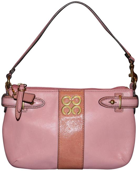 Item - Shoulder Bag Tiny Pink Leather Baguette