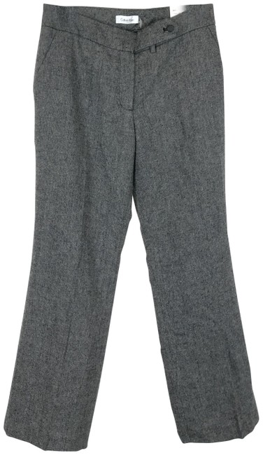 Item - Gray Classic Fit Wool Blend Pants Size 6 (S, 28)
