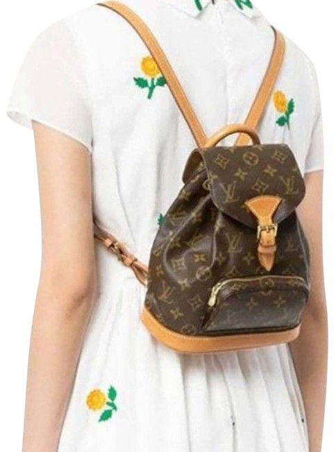 Item - Montsouris Pm Brown Backpack