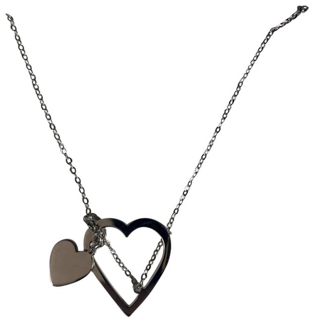 Item - Silver Lovers Gonna Love Heart New Necklace