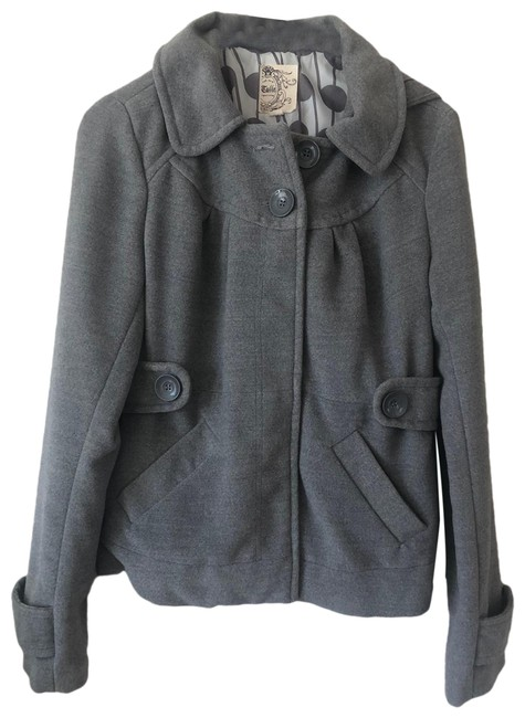 Item - Gray Tulle Jacket Size 4 (S)