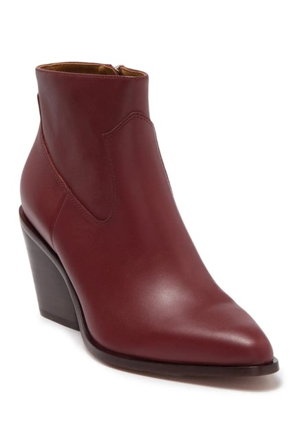 Item - Russet Razor Leather Ankle Boots/Booties Size EU 37.5 (Approx. US 7.5) Regular (M, B)