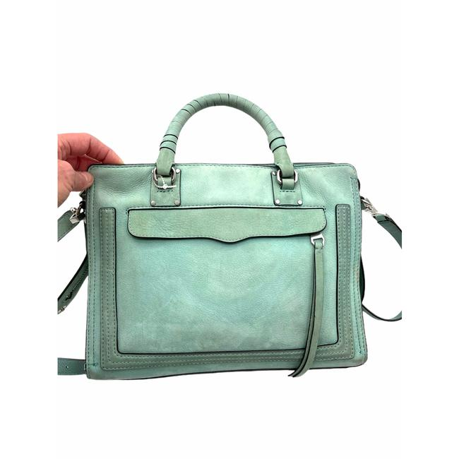 Item - Bree Medium Suede Green Shoulder Bag
