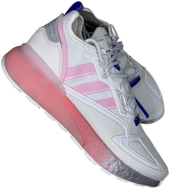 Item - White/Pink Womens Zx 2k Boost 8 Sneakers Size US 7 Regular (M, B)