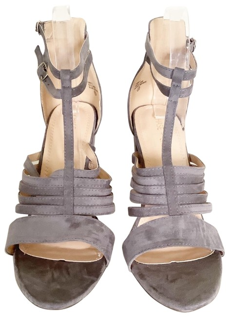 Item - Gray Tawny Suede Womens Sandals Size US 10 Regular (M, B)
