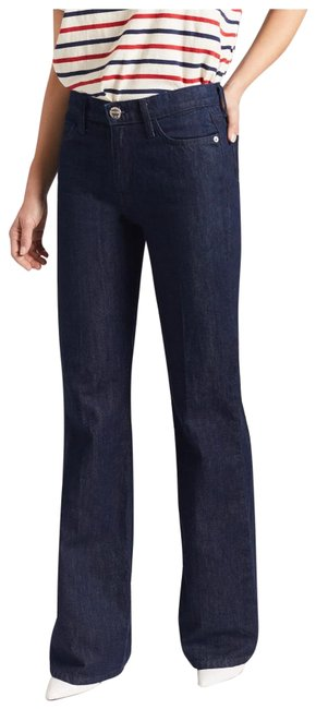Item - Dark Wash Rinse The Jarvis Bootcut Trouser/Wide Leg Jeans Size 4 (S, 27)