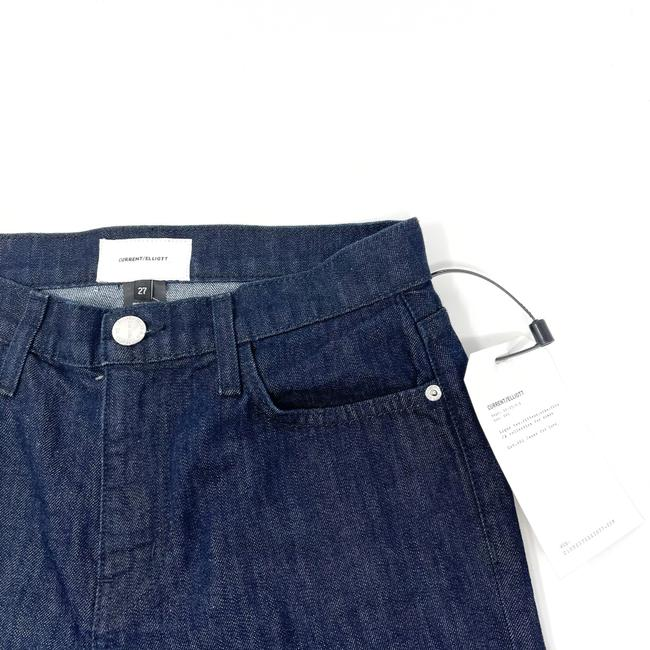 Current/Elliott Dark Wash Rinse The Jarvis Bootcut Trouser/Wide Leg Jeans Size 4 (S, 27) Current/Elliott Dark Wash Rinse The Jarvis Bootcut Trouser/Wide Leg Jeans Size 4 (S, 27) Image 3
