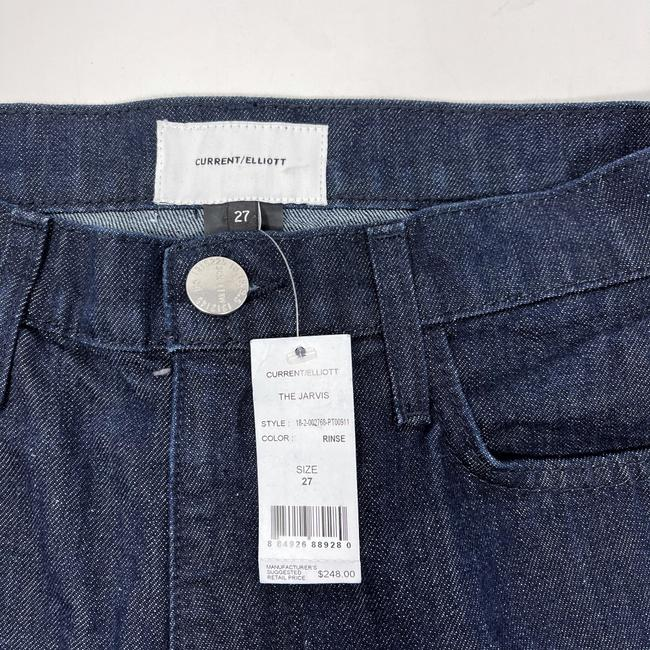 Current/Elliott Dark Wash Rinse The Jarvis Bootcut Trouser/Wide Leg Jeans Size 4 (S, 27) Current/Elliott Dark Wash Rinse The Jarvis Bootcut Trouser/Wide Leg Jeans Size 4 (S, 27) Image 6