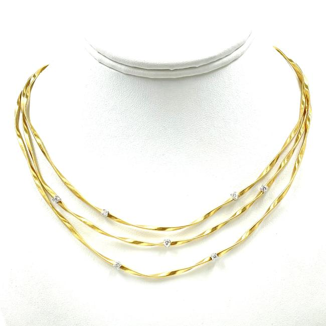 Item - Gold 18k Yellow Diamond Marrakech 3-strand Necklace