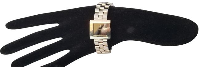 """Gucci Silver """"G"""" 3600j Butterfly Clasp Link Watch Gucci Silver """"G"""" 3600j Butterfly Clasp Link Watch Image 1"""