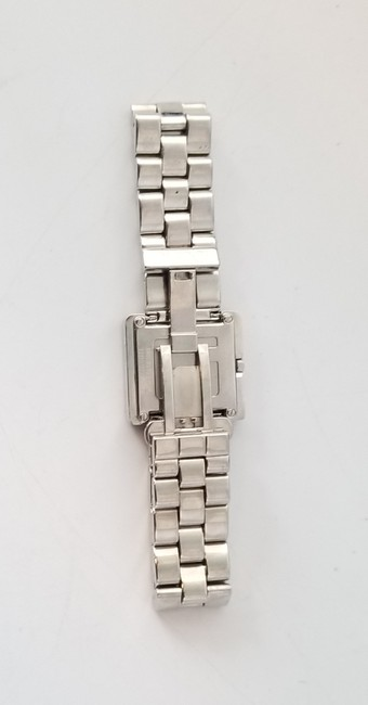"""Gucci Silver """"G"""" 3600j Butterfly Clasp Link Watch Gucci Silver """"G"""" 3600j Butterfly Clasp Link Watch Image 4"""