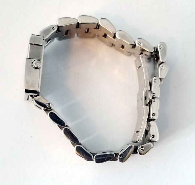 """Gucci Silver """"G"""" 3600j Butterfly Clasp Link Watch Gucci Silver """"G"""" 3600j Butterfly Clasp Link Watch Image 7"""