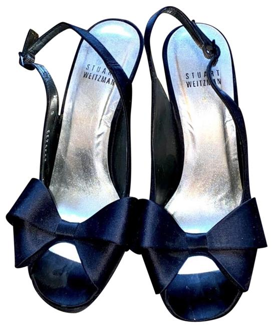 Item - Black Bow Heels Formal Shoes Size US 6 Narrow (Aa, N)