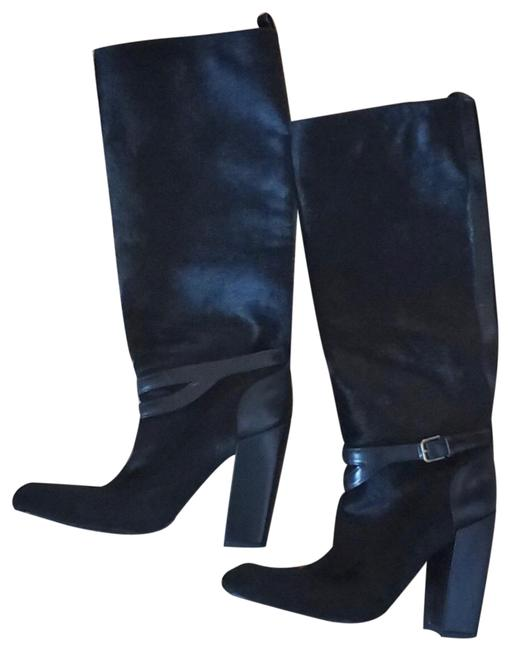 Item - Black Yves Riding Boots/Booties Size US 10 Narrow (Aa, N)