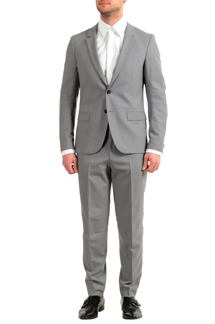 """Item - Gray Men's """"Anfred/Frido184f1"""" Extra Slim Fit Us 44r It 54r Pant Suit Size OS (one size)"""