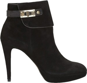 Vince Camuto Boot Bootie Ankle Boot Suede Black Boots
