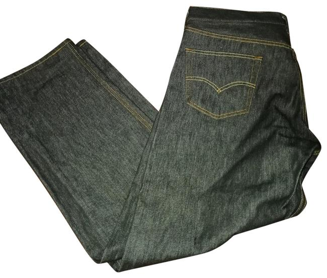 """Item - Black Dark Rinse Mens """"501"""" 38/30 Boot Cut Jeans Size OS (one size)"""
