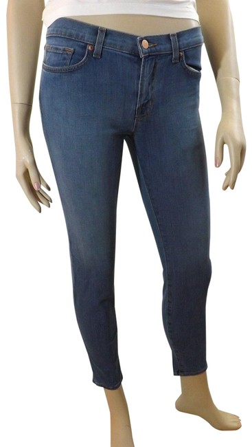 "Item - Blue Light Wash 835 Mid Rise ""Cabo"" Capri/Cropped Jeans Size 29 (6, M)"