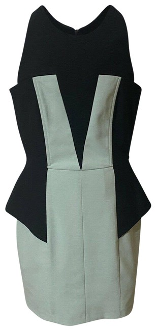 Item - Black Blue Color Body Con And Cocktail Dress Size 6 (S)
