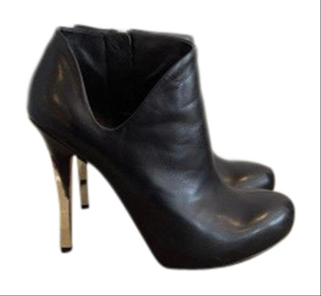 Guess By Marciano Black Ankle Cut-out Boots/Booties Size US 5 Regular (M, B) Guess By Marciano Black Ankle Cut-out Boots/Booties Size US 5 Regular (M, B) Image 1