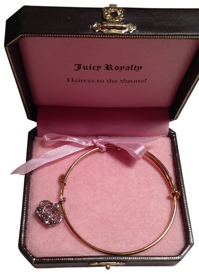 Preload https://img-static.tradesy.com/item/29021/juicy-couture-gold-and-silver-crown-bangle-bracelet-0-0-540-540.jpg