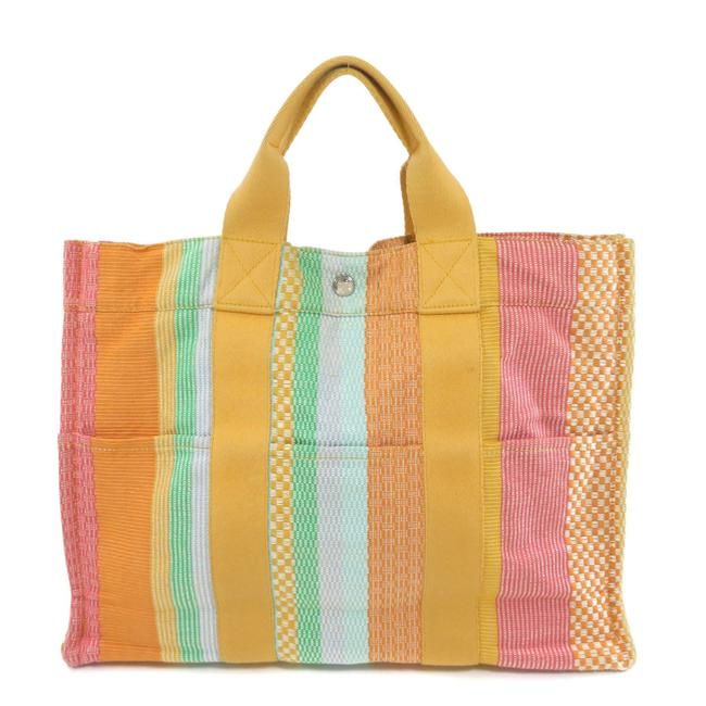 Item - Bag Sack Fool To Mm New York Madison Limited Ladies Multi-color Canvas Tote