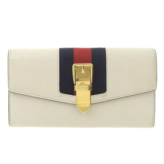 Item - White Sherry Purse Leather 476084 Wallet