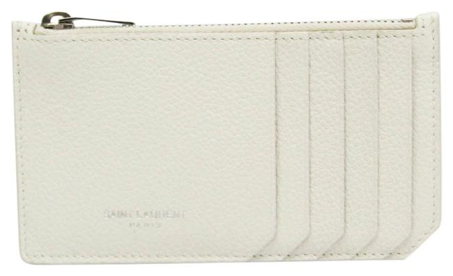 Item - Off-white 379278 Unisex Leather Coin Purse/Coin Case Wallet