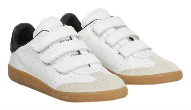 Item - White Beth Touch-strap Sneakers Size EU 36.5 (Approx. US 6.5) Regular (M, B)