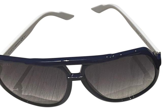 Item - Blue and White Gg1622s Sunglasses