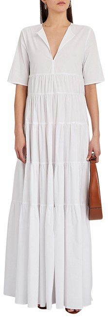 Item - White Cocoon Long Casual Maxi Dress Size 8 (M)