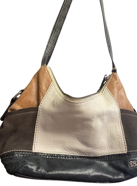 Item - Multiple W W/ Compartments Multicolor Leather Hobo Bag