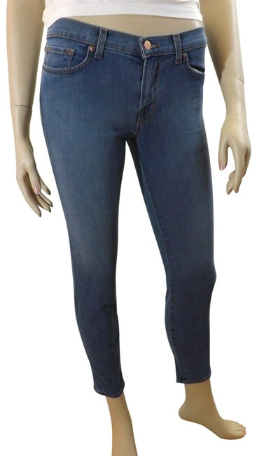 "Item - Blue Light Wash 835 Mid Rise ""Cabo"" Capri/Cropped Jeans Size 24 (0, XS)"