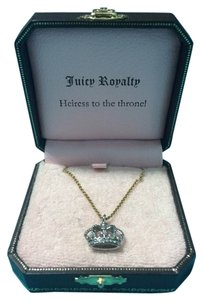 Juicy Couture Juicy Couture Crown Two Toned Necklace