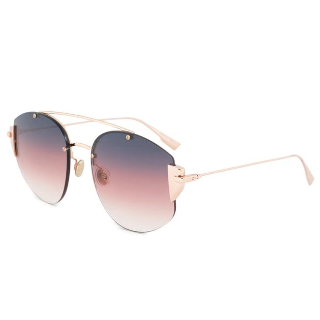 Item - Pink Ombre stronger Gold with Brown and Lens Sunglasses
