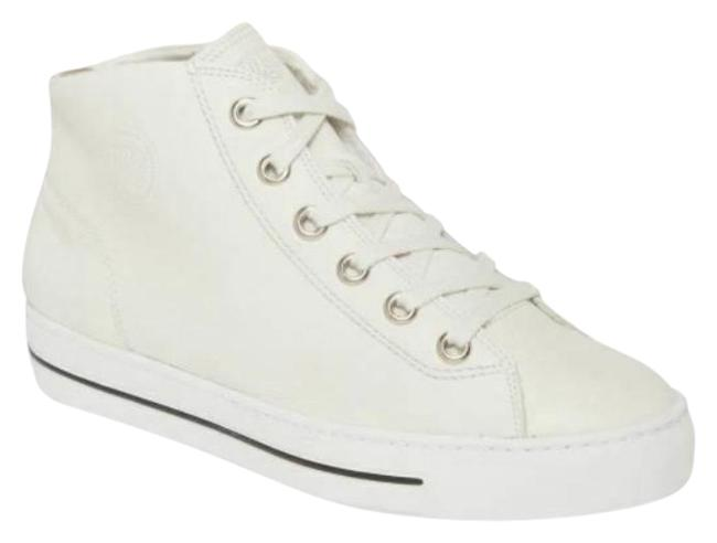 Item - Off White Bronte Leather Lace Up High Top Sneakers Size US 7.5 Regular (M, B)