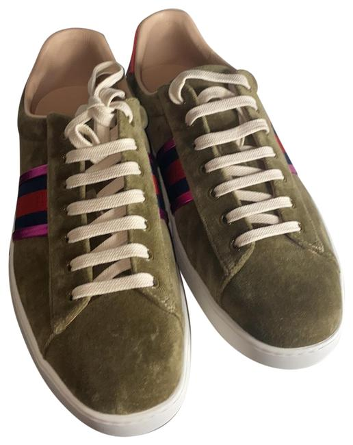 Item - Olive Color Mix with Cream 473763 Men's Sneakers Size US 12 Regular (M, B)